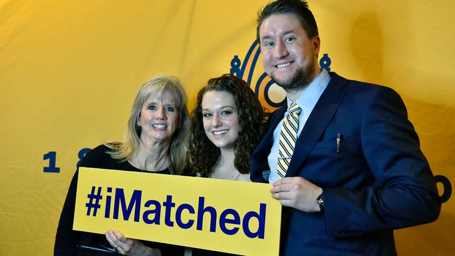 2017 School of Medicine Match Day