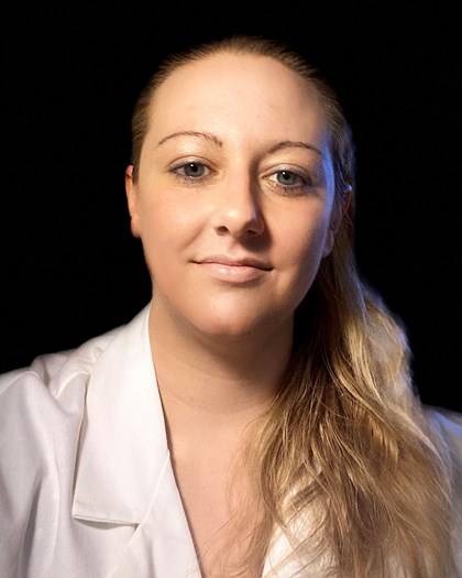 A head shot photo of Tiffany Petrisko, Ph.D..